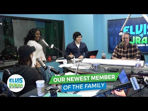 Meet Our Newest Member of the Family | Elvis Duran Exclusive