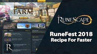 RuneFest 2018 - Recipe for Faster (Panel)