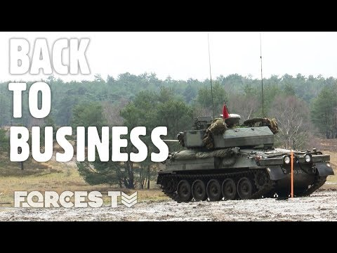 Back In Action: Army's Sennelager Training Area In Germany | Forces TV