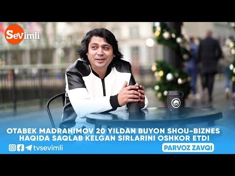 OTABEK MADRAHIMOV 20 YILDAN BUYON SHOU-BIZNES HAQIDA SAQLAB KELGAN SIRLARINI OSHKOR ETDI