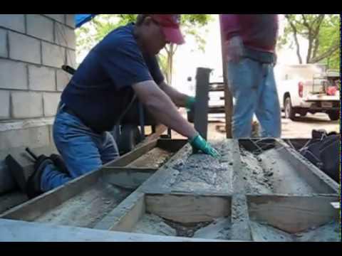 Concrete pre-casting