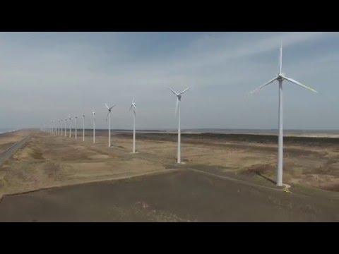 オロロンライン オトンルイ風力発電所 by たけうち on YouTube