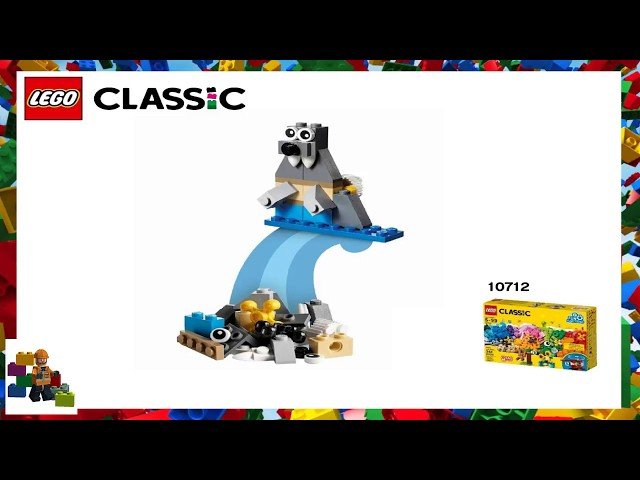 LEGO instructions - Classic - 10712-  Bricks and Gears - Walrus