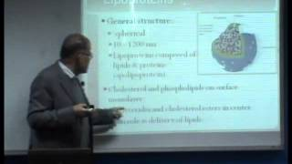 Proteins - 3 Lipoproteins - 1  [lecture: 09-26]