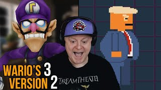 5 ROOMS & DONALD TRUMP   WARIO'S 3 VERSION 2   ALL OUT GAME COMPLETED + ALL SKINS