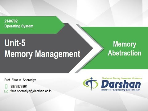 5.02 - Memory Abstraction
