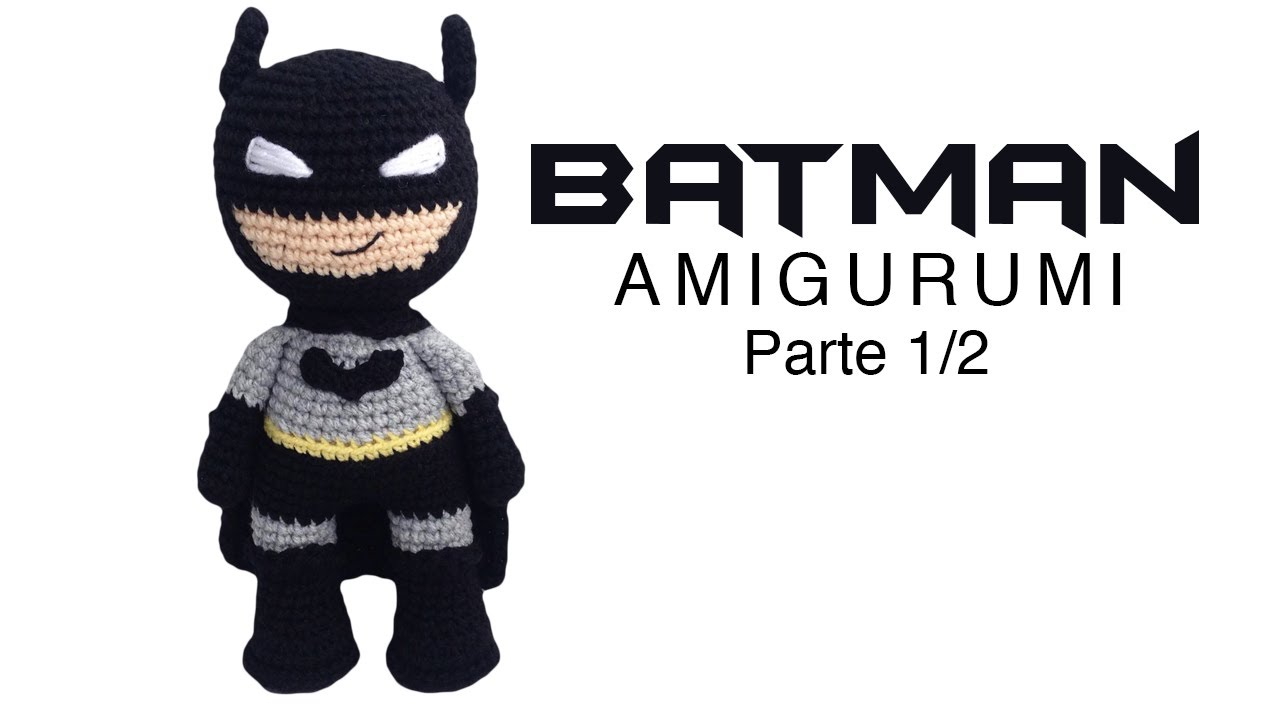 Batman Crochet amigurumi - YouTube | 720x1280