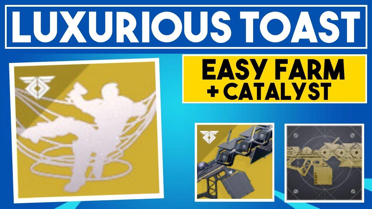Destiny 2 - EASY LUXURIOUS TOAST + SLEEPER SIMULANT CATALYST - FARM NOW