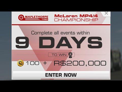 Real Racing 3 McLaren MP4/4 Championship Series Overview + Upgrade Scheme