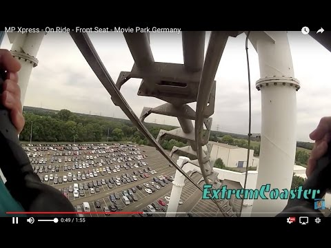 MP Xpress - On Ride - Front Seat - Movie Park Germany