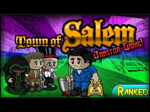 Town of Salem (Janitor Game) | SOAPER UNLUCKY! (Ranked) w/ M
