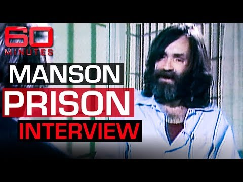 Charles Manson's first