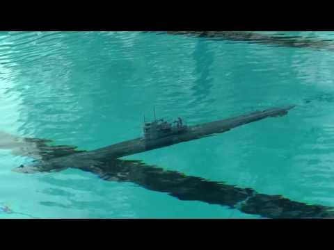 U-Boot Typ VII C, Dynamisches Tauchen, RC-Modell Graupner