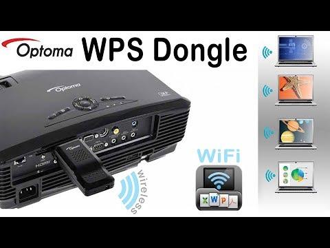 Optoma WPS WiFi Dongle | Обзор и подключение WPS Wireless к проектору