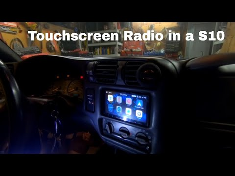 How To Install A Head Unit In An S10 - Restoration S10