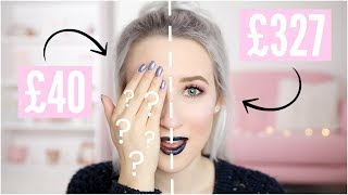CHEAPEST vs MOST EXPENSIVE Makeup | Sophie Louise