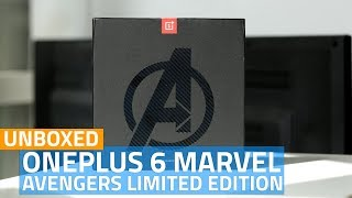 OnePlus 6 Marvel Avengers Limited Edition: What