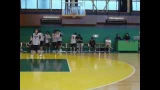 女子バスケ JX×日本代表U18 ① 山本千夏 動画 27