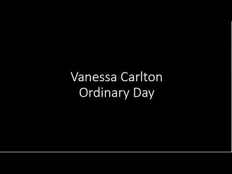 Vanessa Carlton - Ordinary Day - Lyrics