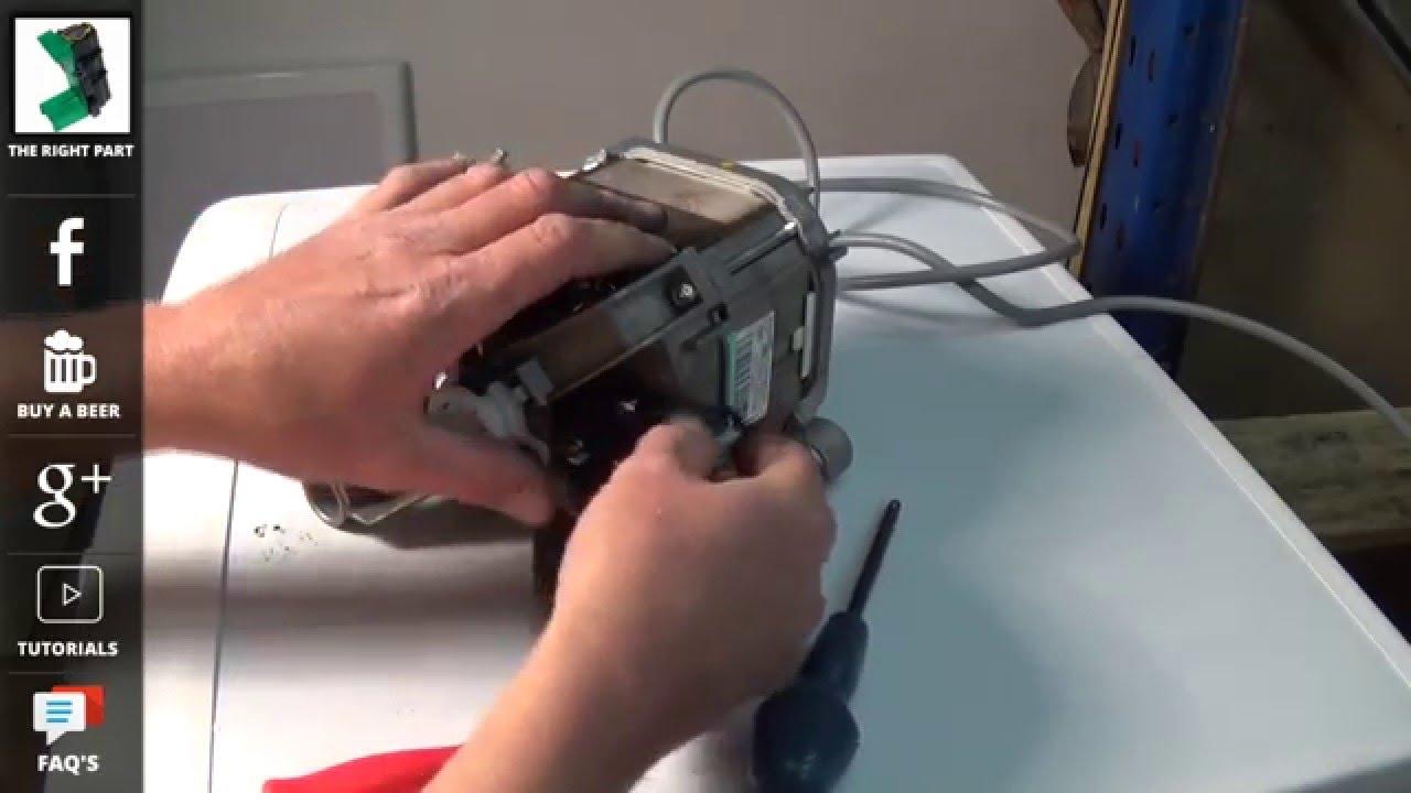 beko washing machine not spinning or turning how to replace carbon brushes [ 1280 x 720 Pixel ]