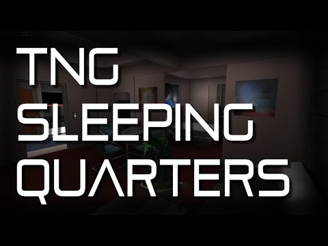 "Star Trek TNG - Enterprise ""Sleeping Quarters"" Ambience (1 HOUR)"