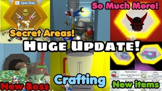 Big Update! Secret Areas! New Boss! New Bees! New Field and More! - Bee Swarm Simulator