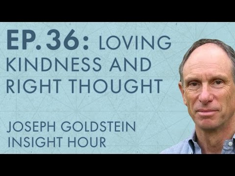 Joseph Goldstein – Insight Hour – Ep. 36 – The Eightfold Path: Loving Kindness and Right Thought