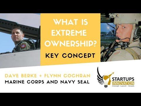 One minute explaining EXTREME OWNERSHIP FOR ENTREPRENEURS! Dave Berke and Flynn Cochran