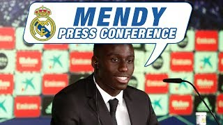LIVE | Ferland Mendy's first Real Madrid press conference!