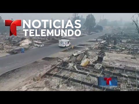 Noticias Telemundo, 11 de octubre de 2017 | Noticiero | Noticias Telemundo