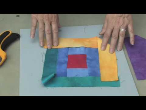 Alicia Merrett: Contemporary Art Quilt Demonstration - Part 3 OF 3