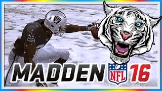 MADDEN 16 FUNNY MOMENTS - WILDCAT vs. Moo Snuckel! - Snowing in California, Tom Brady Sucks!