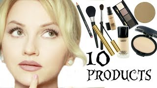 Minimalistic Bridal Makeup - ONLY 10 MAKEUP PRODUCTS!