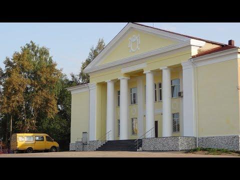 Город Красный Холм и Краснохолмский район в 2018 году.