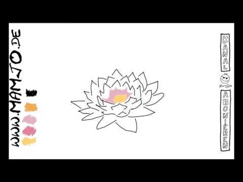 Blumen Quicki ^^ einfach und schnell Zeichnen lernen