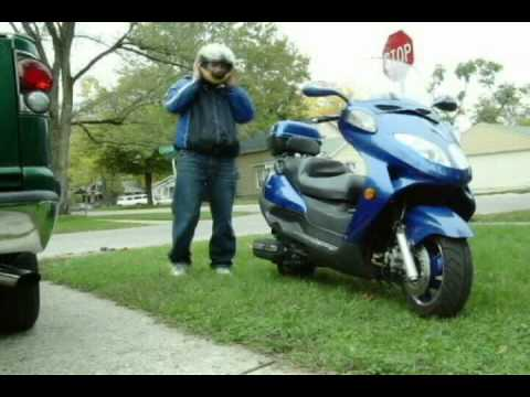 250cc Scooter Highway Test Ride Youtube