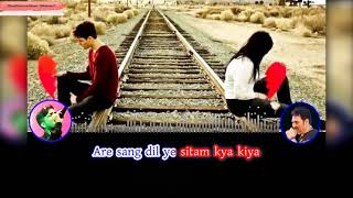 hasi ho jawan ho nasha ho tum Karaoke | Ghar Ki Izzat (1994) | Kumar Sanu | bewafa bewafa ho tum