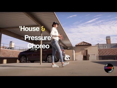 House & Pressure Shuffle Choreography Breakdown