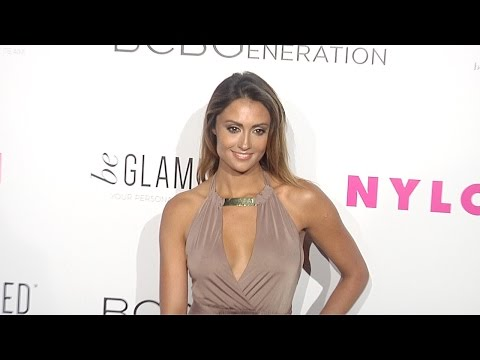 Katie Cleary NYLON Young Hollywood Party 2015 Red Carpet Arrivals