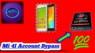 Xiaomi Mi 4i account bypass, google unlock, frp unlock by miracle box