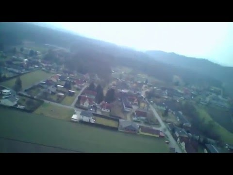 Short flight over Wagna, Southern Styria - Hubsan X4
