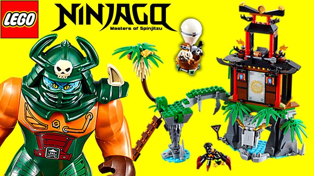 LEGO Ninjago Tiger Widow Island 70604 Review
