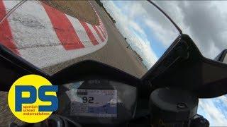 Superbikes 2018: Aprilia RSV4 RF Onboard in Alcarras