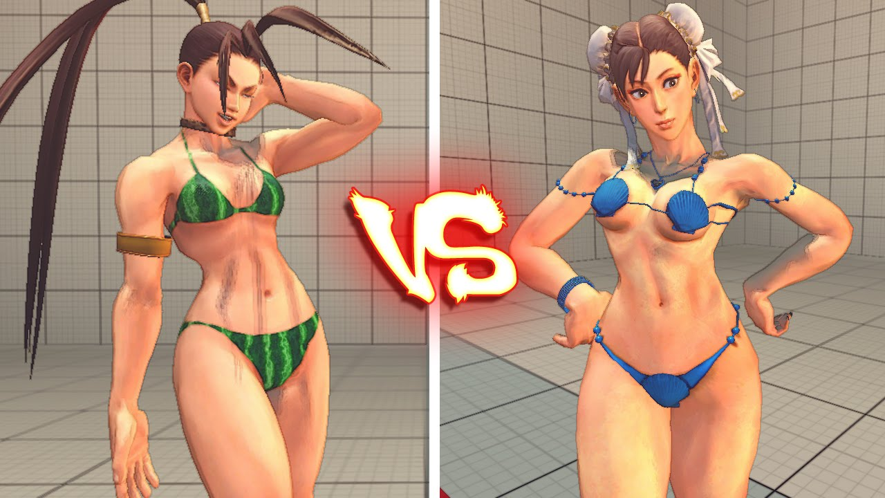 Street fighter bikini
