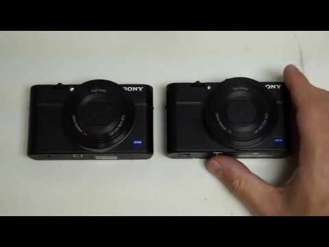 Sony Cyber-shot RX100 II vs RX100
