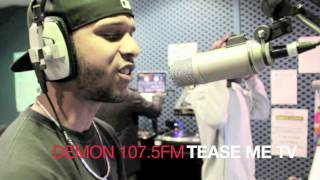 TEASE ME TV - STRAUSS FREESTYLE - THE URBAN MIXDOWN SHOW WITH DJ KID J - 107.5 DEMON FM
