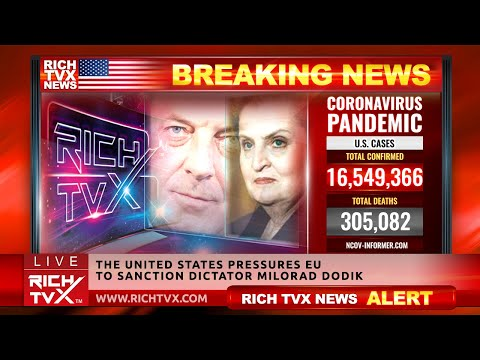 Breaking News: The United States Pressures EU To Sanction Dictator Milorad Dodik – Rich TVX  NEWS