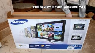 Samsung F5500 - 42F5500 Unboxing