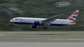 FS2004 British Airways B777-200ER  London EGLL  to HongKong VHHH Flight