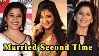 15 TV Actresses Who Got Married Second Time | Must Watch